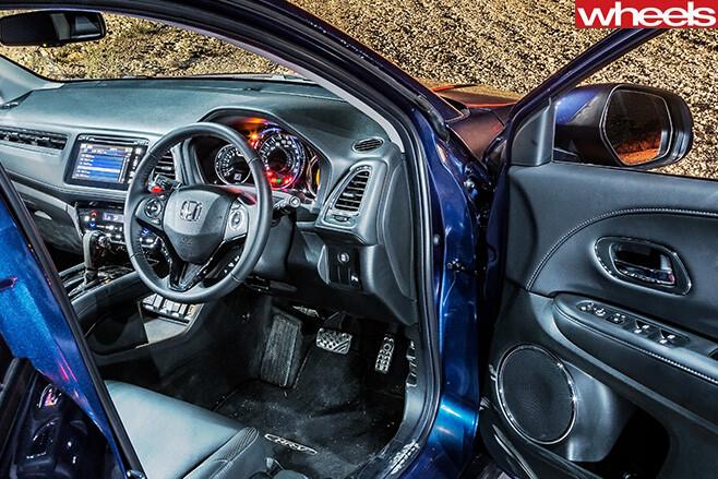 Honda -HR-V-interior