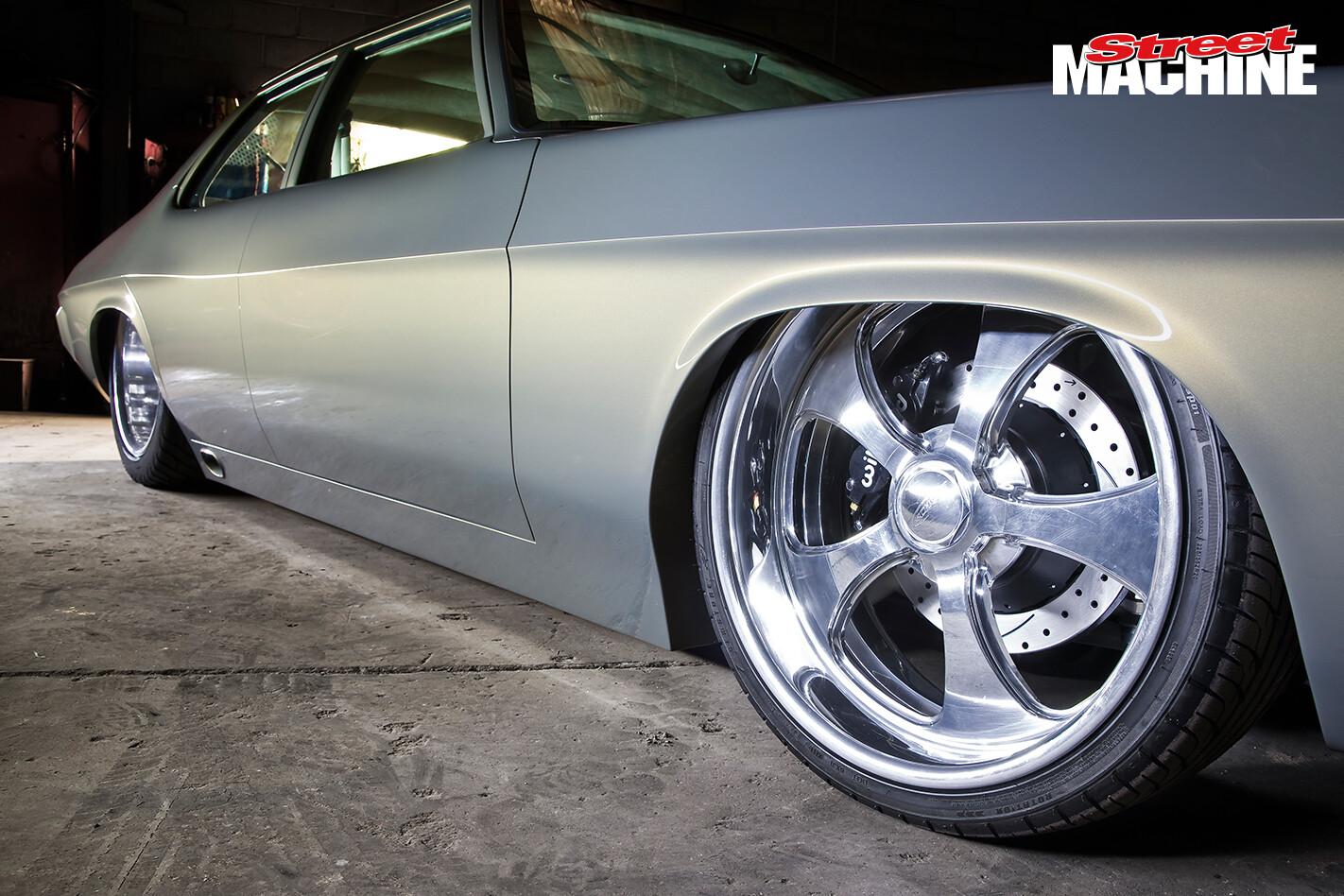 HQ Holden Sedan TOXICQ Wheels
