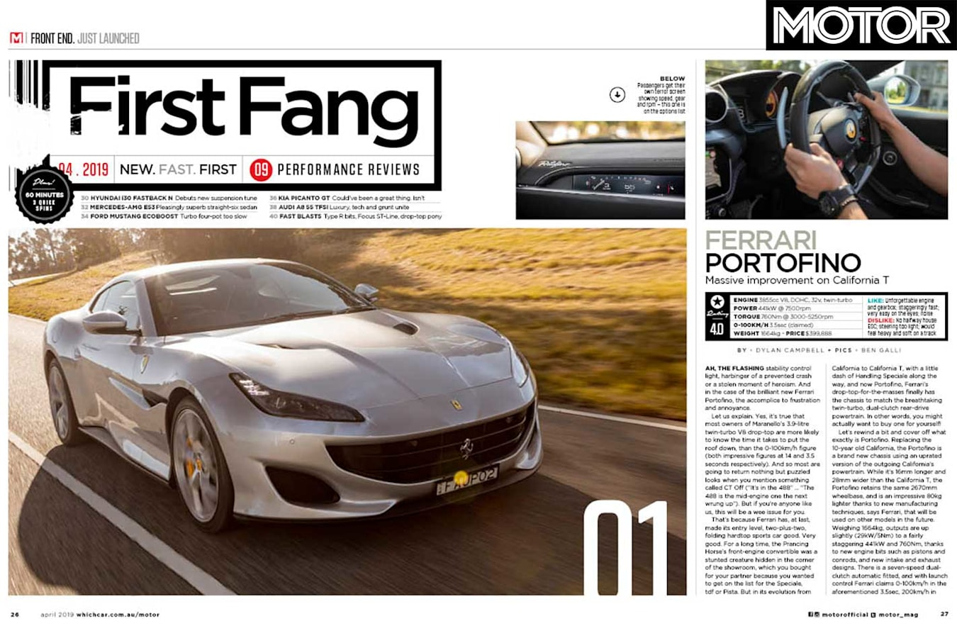 MOTOR Magazine April 2019 Issue FIRST DRIVES Jpg
