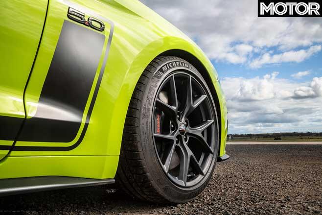 Ford Mustang R-Spec wheel