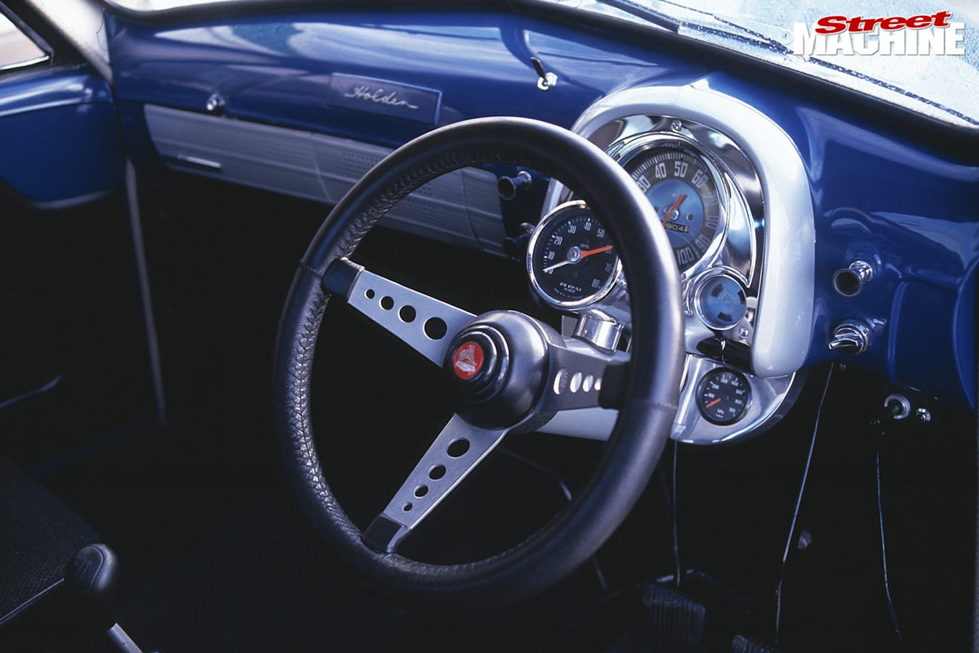 Holden FJ ute dash