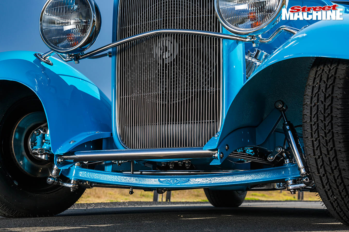 Ford Roadster grille