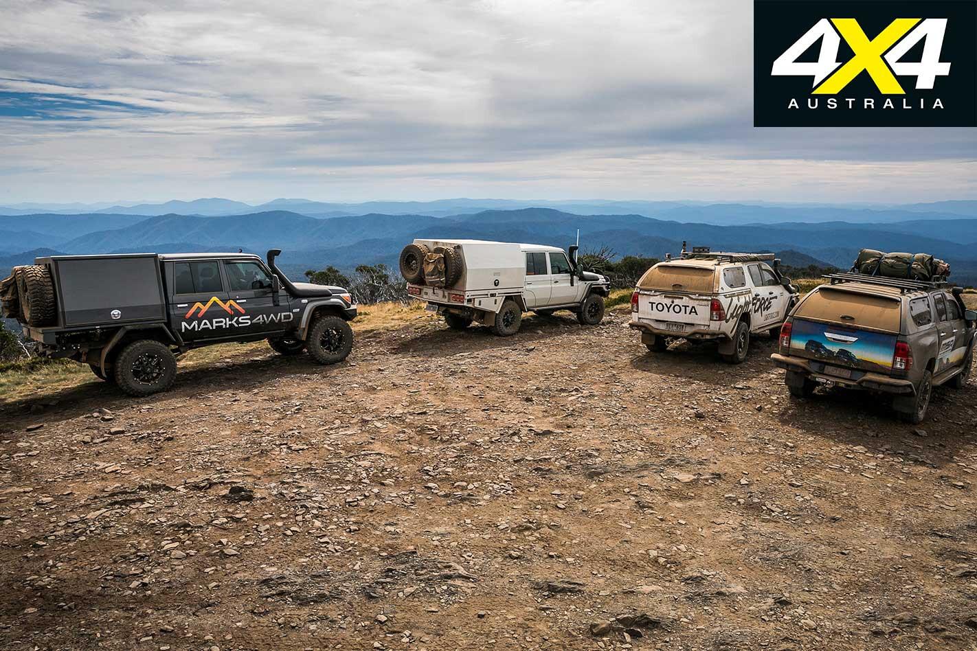 Victorian High Country 4 X 4 Adventure Series Mountaintop Jpg