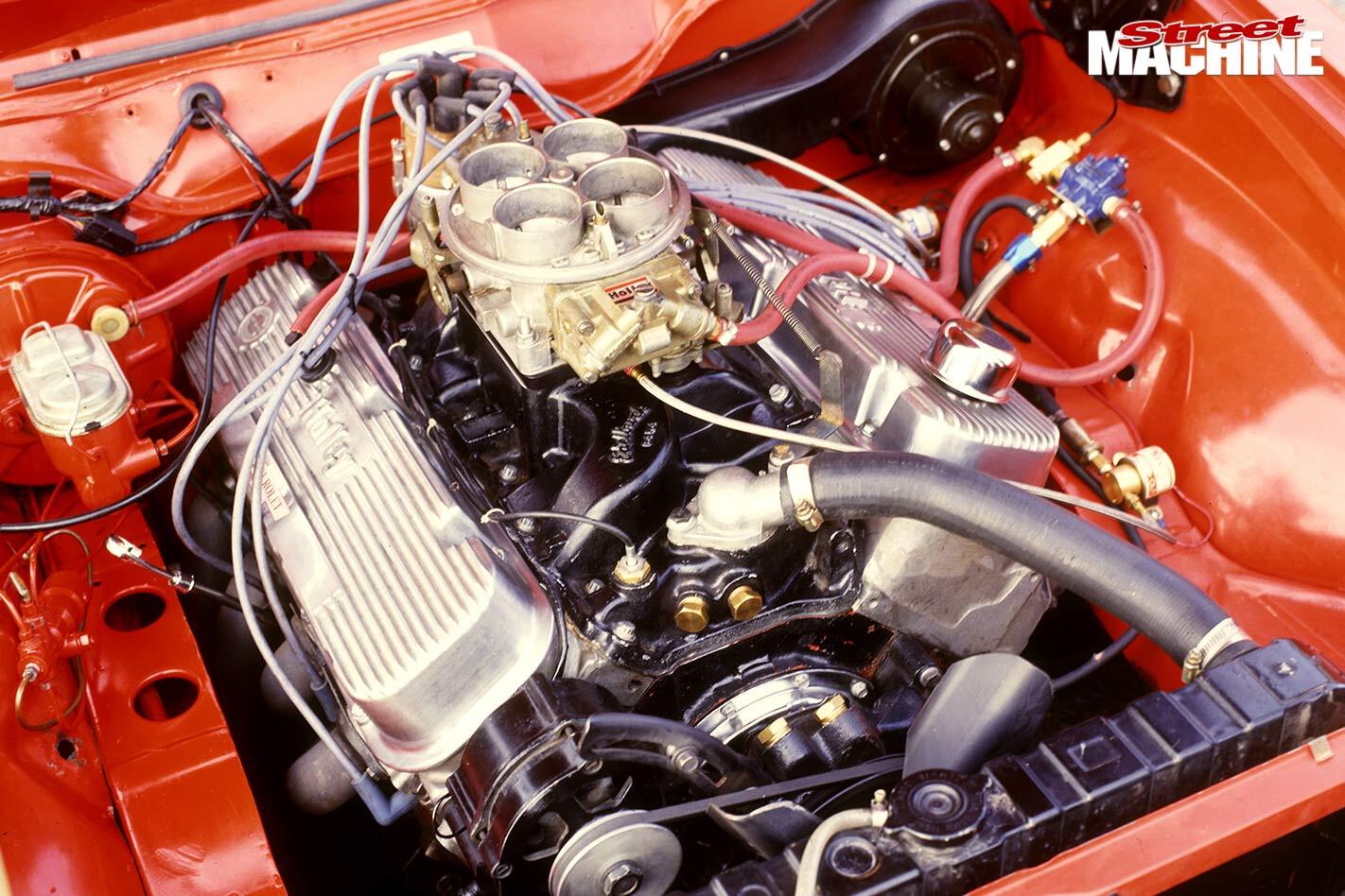 Holden Torana A9X engine bay