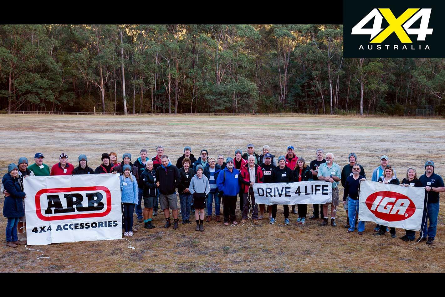 Drive 4 Life Participants Photo Op Jpg