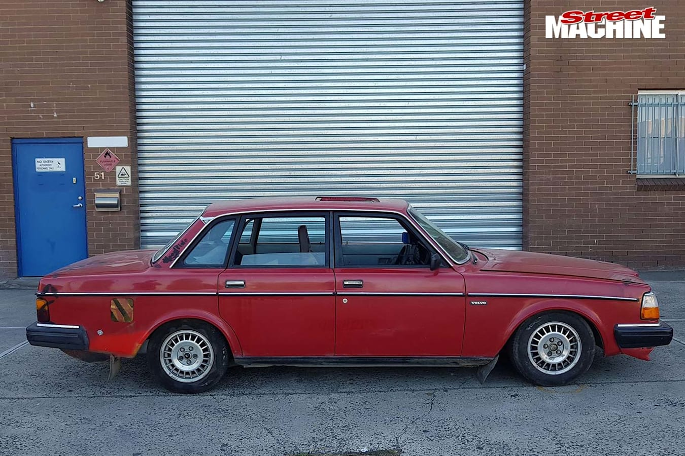 1JZ swapped 1983 Volvo 240