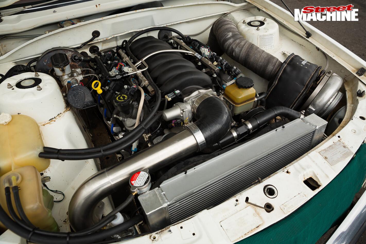 Commodore -vc -engine