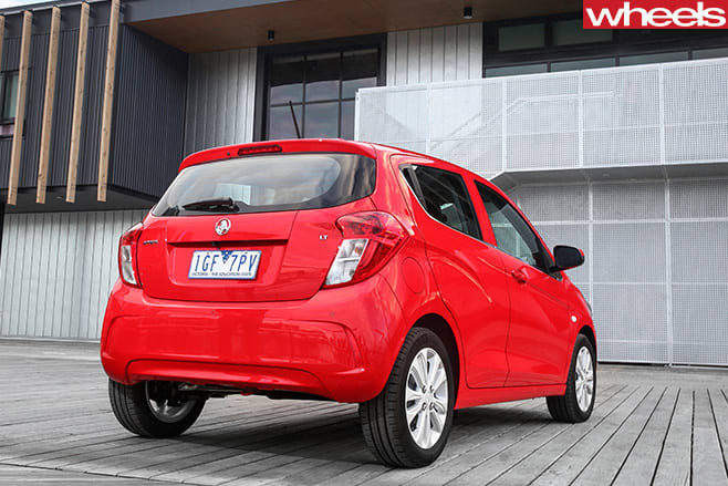 Holden -Spark -rear -side