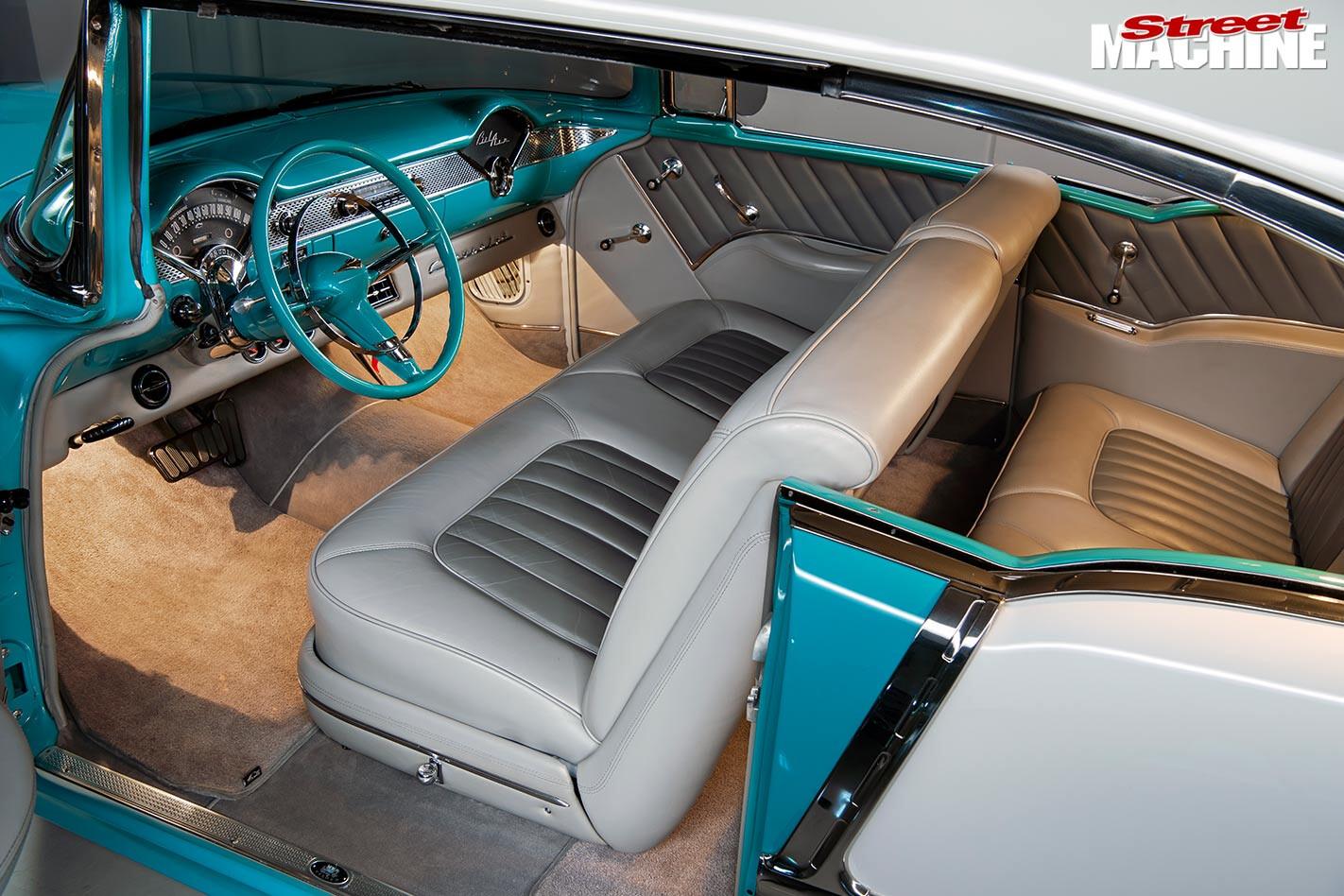 1955 Chev interior
