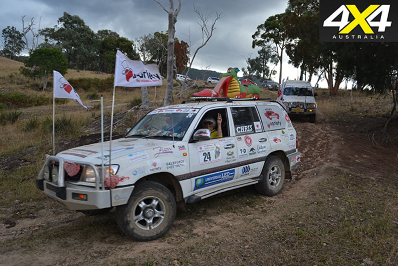 Variety 4WD Charity Adventure 4