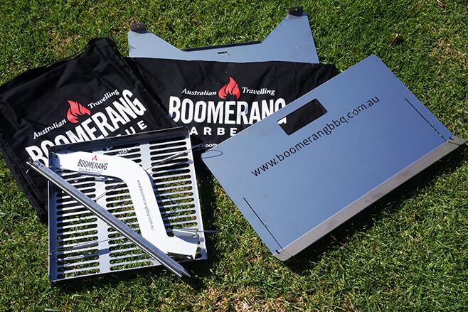 Boomerang BBQ kit