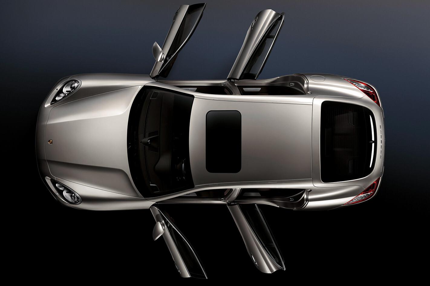 2010 Porsche Panamera Turbo birdseye