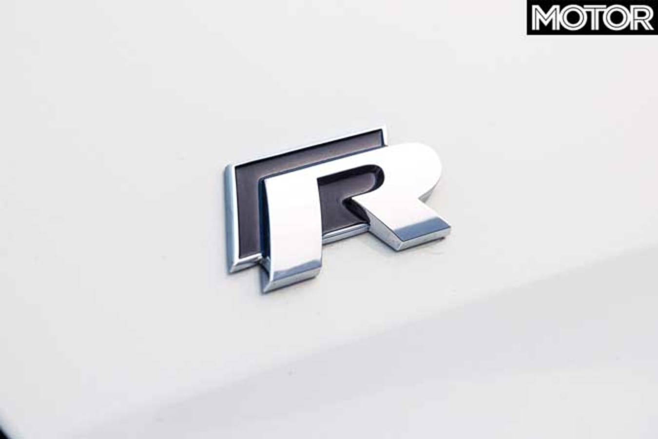 2019 Volkswagen Golf R Special Edition R badge