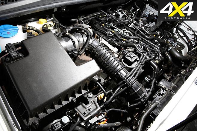 Volkswagen -amarok -engine