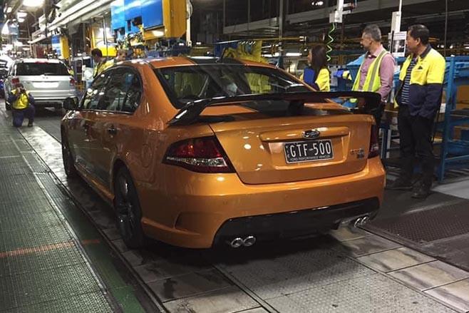 FPV GT-F 500 rear