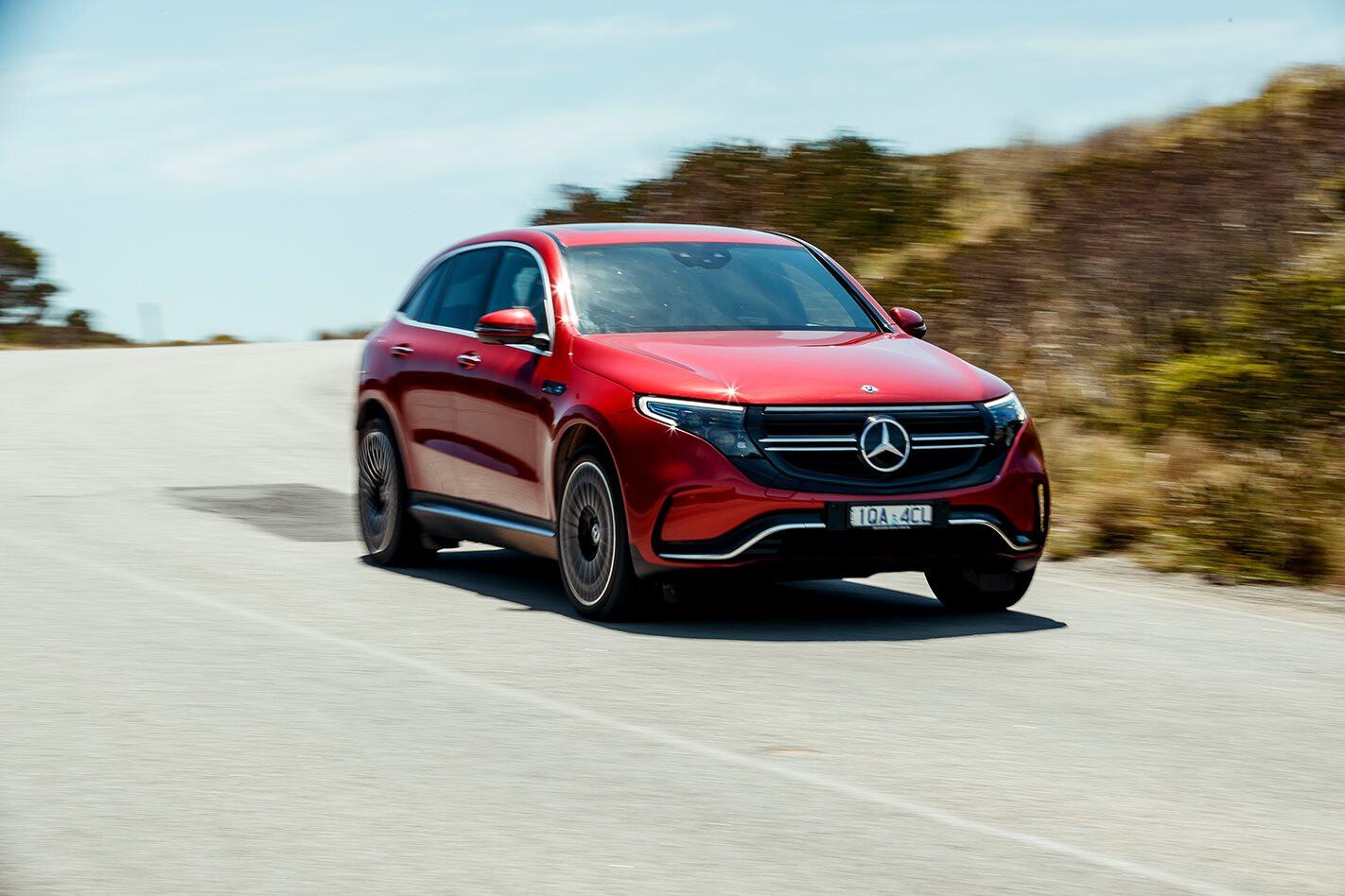 Mercedes-Benz EQC Winner Wheels Car of the Year 2020