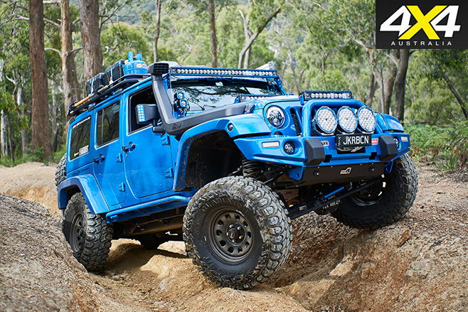 Custom 2014 Jeep JKU Wrangler Rubicon Unlimited