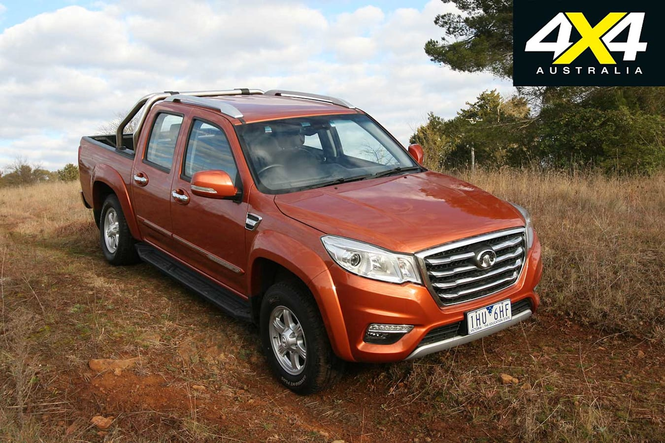 2018 Great Wall Steed Dual Cab Front Jpg