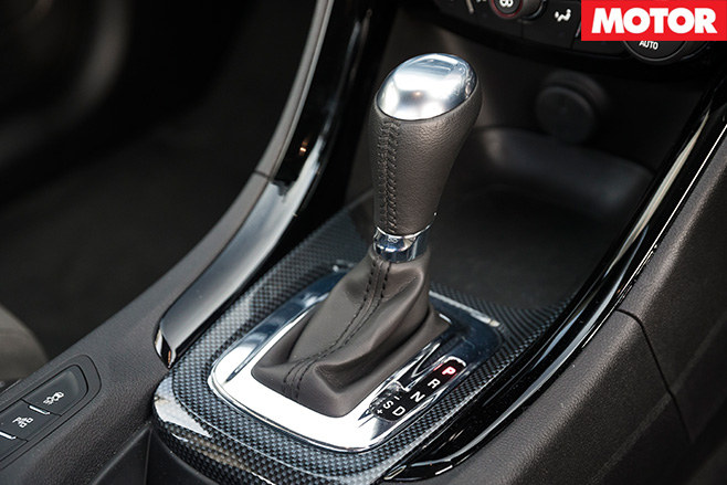 Holden SS ute automatic gear