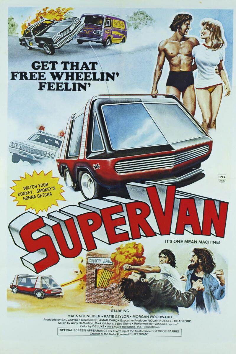 Super Van 1977 Cover