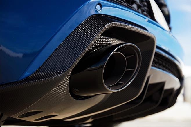 2020 Audi R8 Performance exhaust