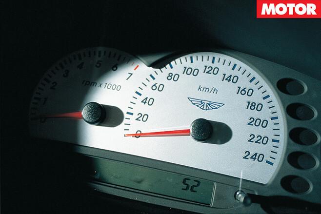 Ford TS50 rev meter