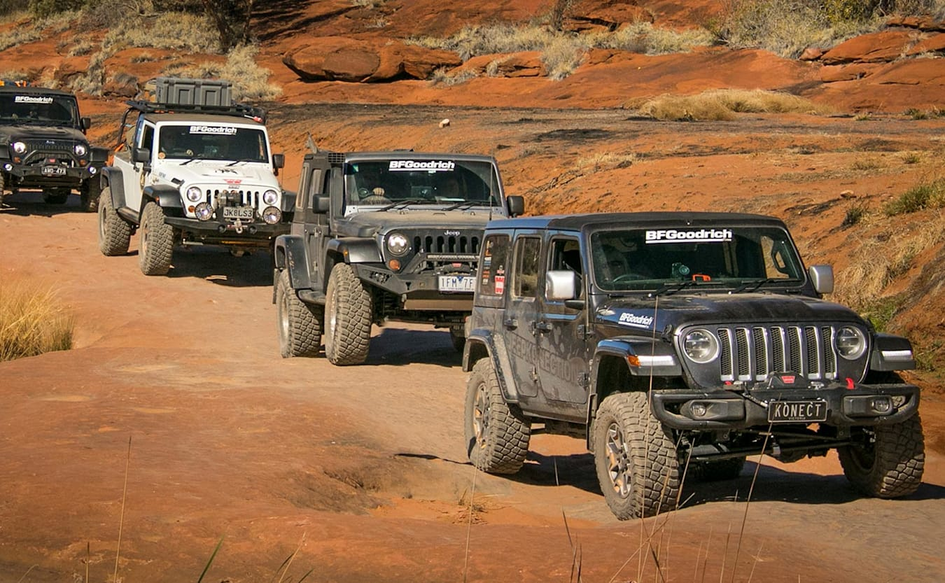 BFGoodrich East-West Australia Jeep Expedition 4x4 travel event feature