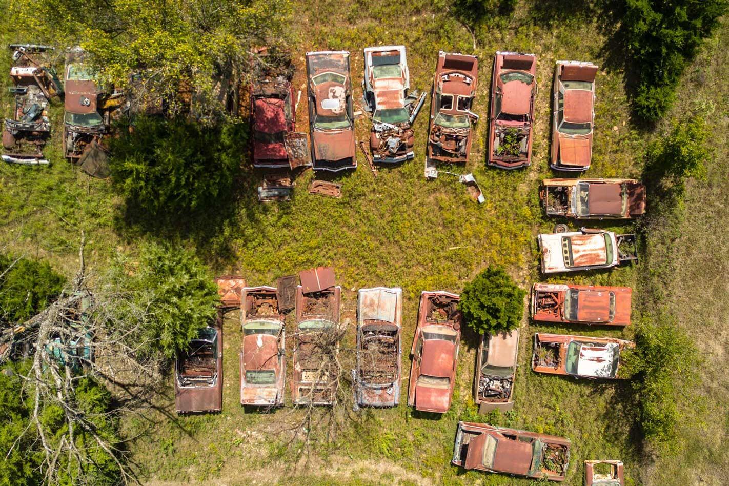 Purky's junk yard