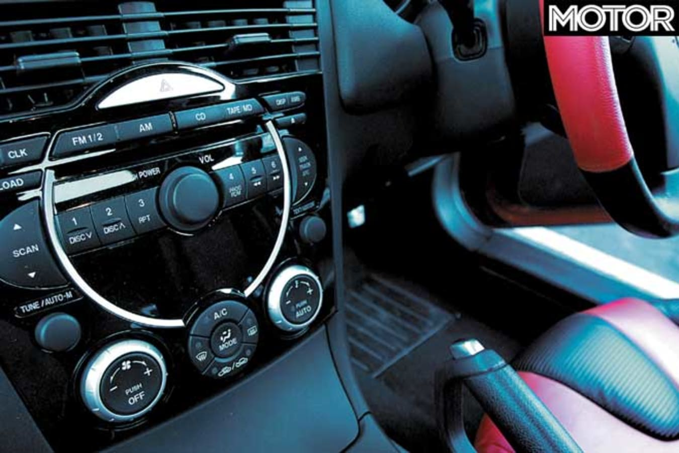 Performance Car Of The Year 2004 Mazda RX 8 Centre Console Jpg