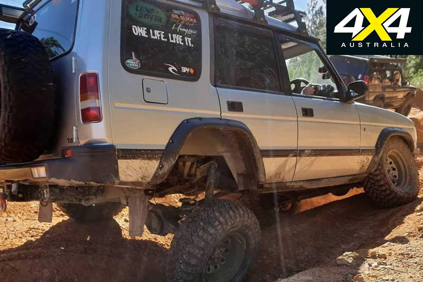 Readers 4 X 4 S Wild Wagons Mark Tweedie Land Rover Discovery Rear Suspension Jpg