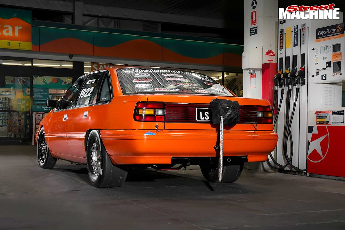Holden VN Commodore rear
