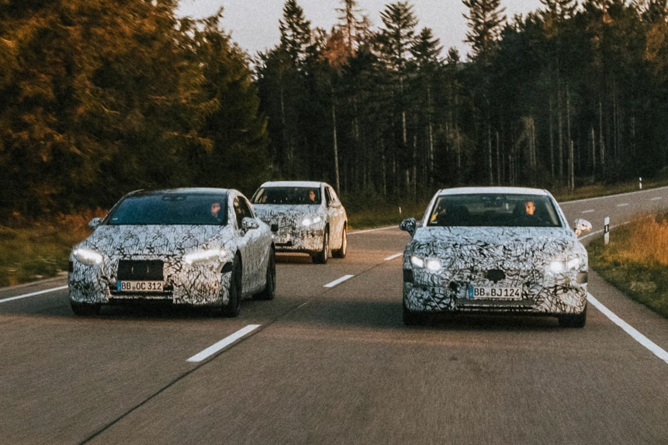 Mercedes' growing EQ family