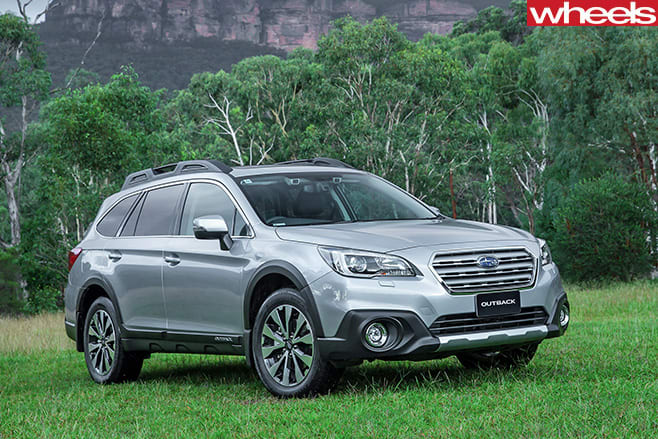 Subaru -Outback -front -side