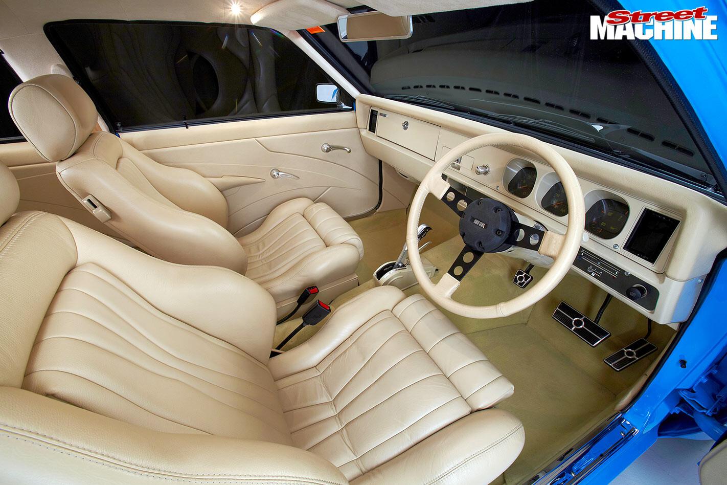 Holden Torana LX interior