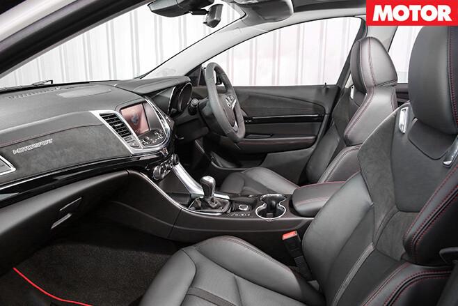 2017 Holden Commodore Motorsport Edition interior