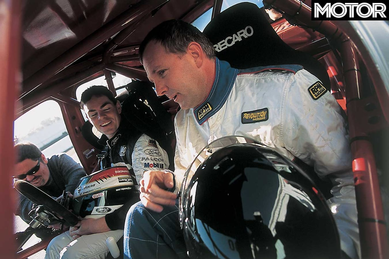 Driving Craig Lowndes 2002 Ford Falcon V 8 Supercar Discussion Jpg