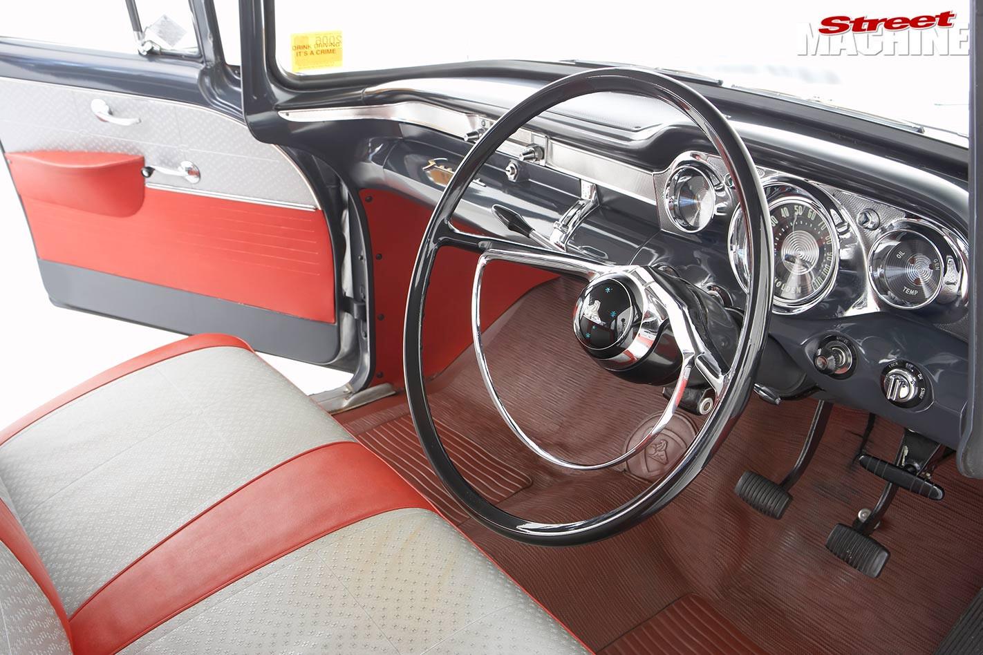 Holden EK interior