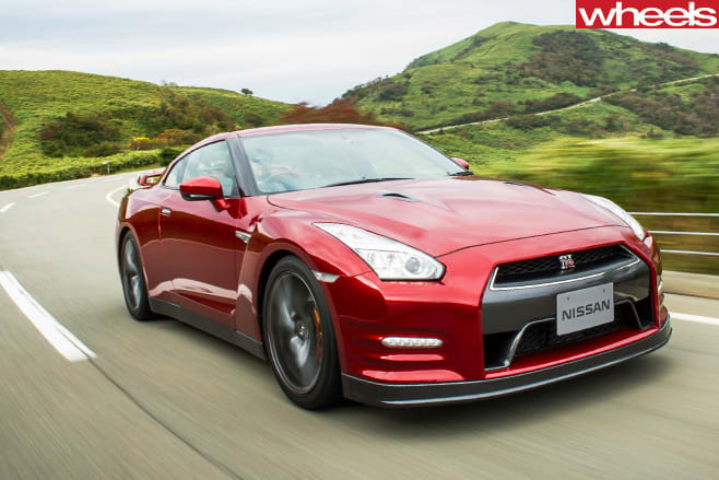 Nissan -GT-R-front