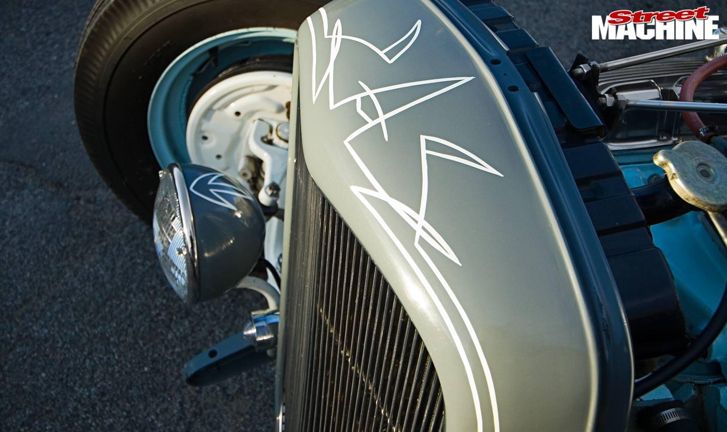 Ford Tudor detail