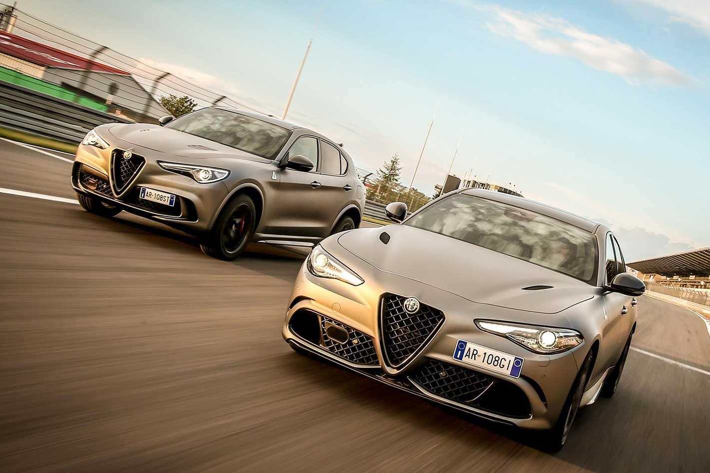 Alfa Romeo Giulia Q Stelvio Q NRING pricing specs