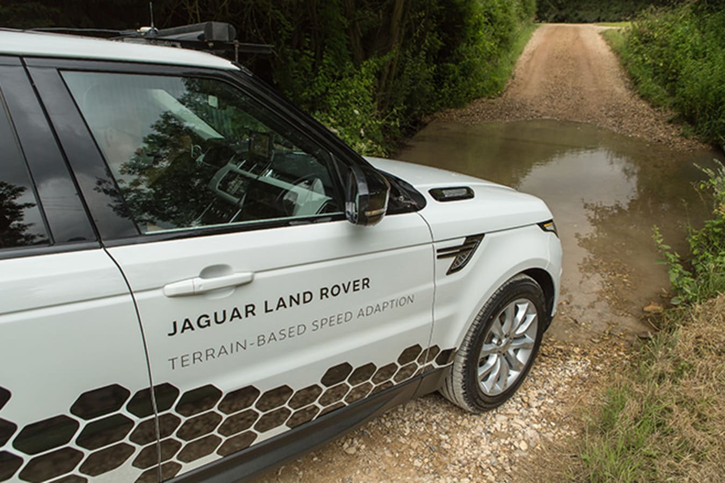 Jaguar Land Rover terrain system