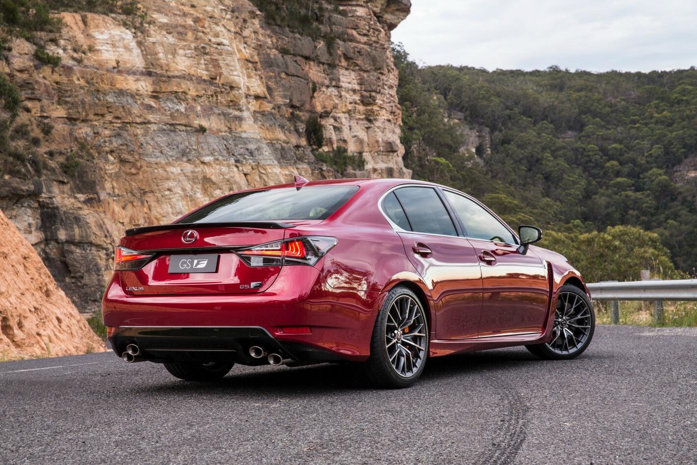Lexus GS F Rear