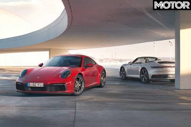 2020 Porsche 911 Carrera 4 Coupe Cabriolet Jpg