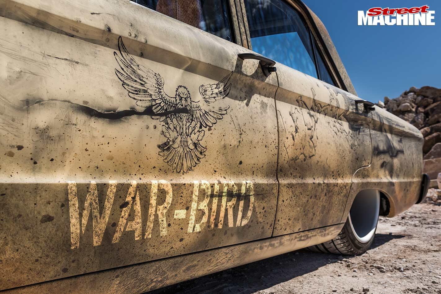 Ford Falcon XP war bird