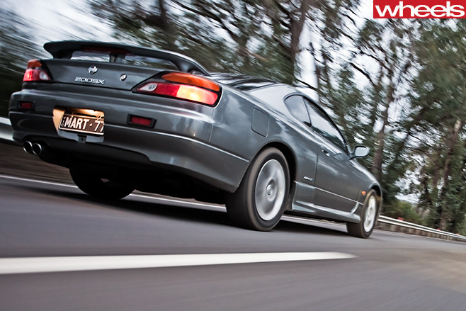 Nissan -S15-200sx -driving