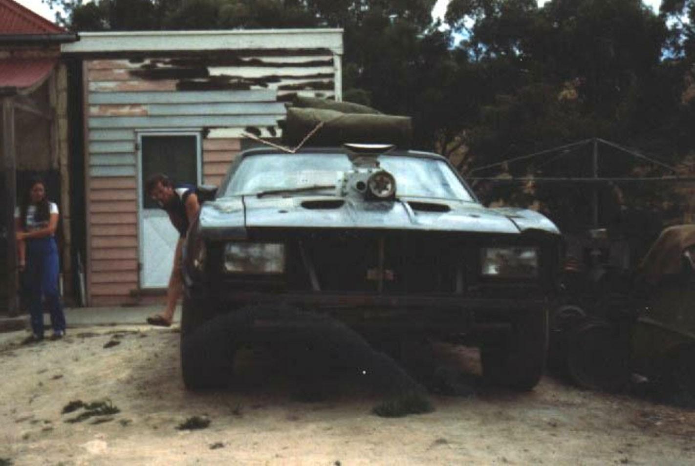 Original Mad Max Interceptor is for sale