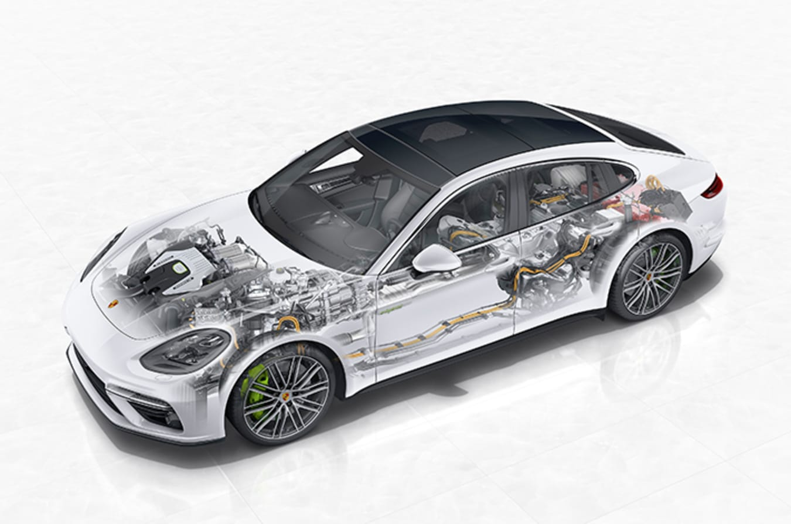 Porsche hybrid Panamera