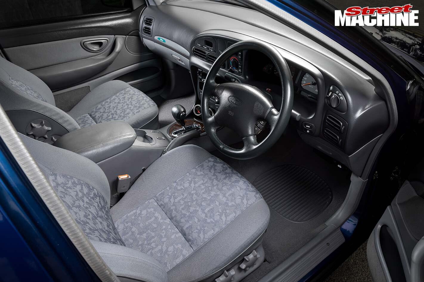 Ford EL Falcon interior