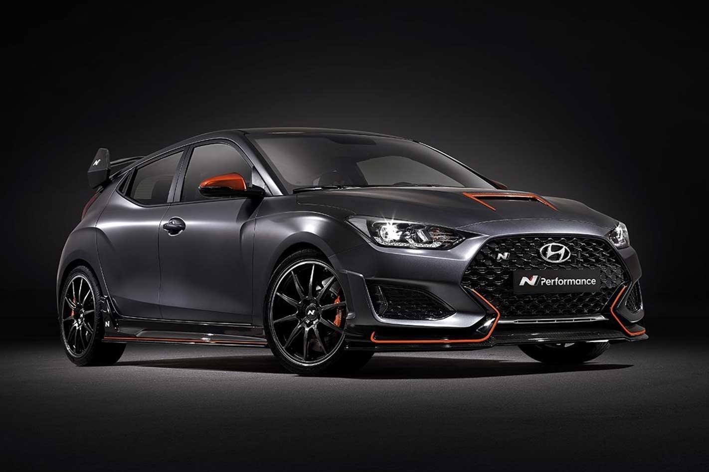 Hyundai Veloster N Performance Concept revealed SEMA