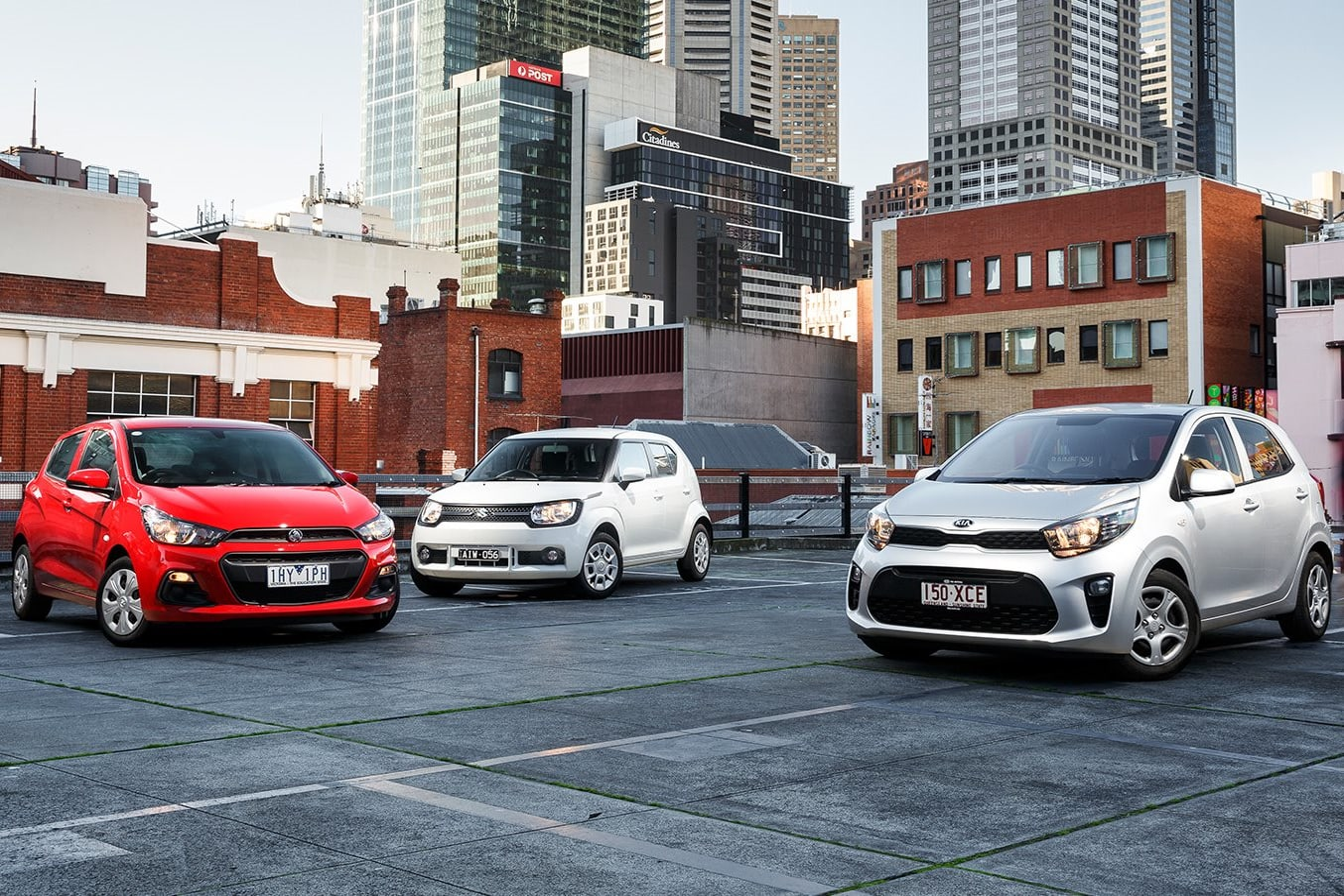 Holden Spark v Suzuki Ignis v Kia Picanto - Minority Retort